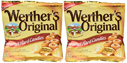 Werthers Original, Hard Candies - 5.5 Oz Bags (Pack of 2)]()