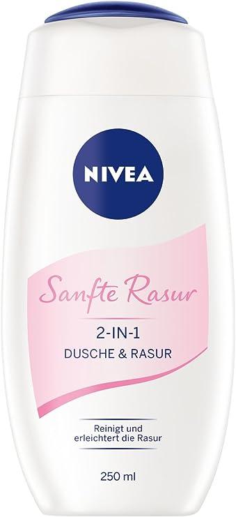 Nivea 2 en 1 de ducha y un afeitado suave, 6 pack (6 x 250 ml ...