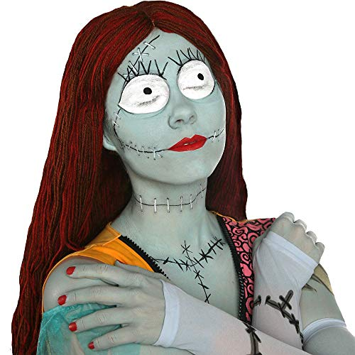 The Nightmare Before Christmas Sally Makeup Kit, by Party City -