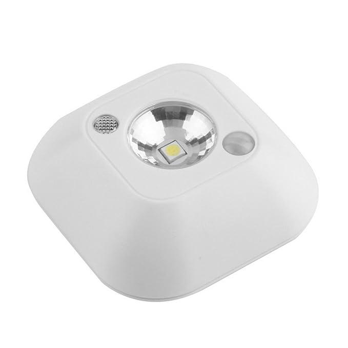 Led Wireless Door Keyhole Light Auto Pir Ir Motion Sensor Night Light Door Lamps Top Watermelons Home & Garden
