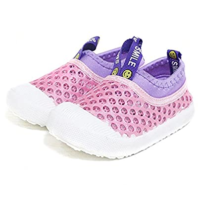 RVROVIC Kids Slip-on Breathable Mesh Sneakers Summer Beach Shoes 4 Colors Toddler / Little Kid