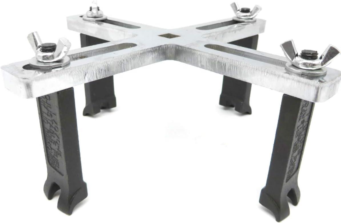 FireAngels Tapa para dep/ósito de Combustible de Coche Herramienta Ajustable para Audi Universal Benz BMW VW Citroen Toyota Nissan Chevys