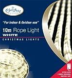 Benross The Christmas Lights 10m Chaser Rope Light - White