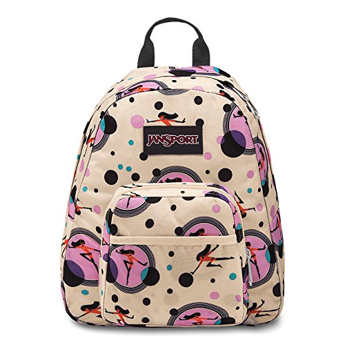 JanSport Incredibles Half Pint Mini Backpack - Incredibles Violet Dot -
