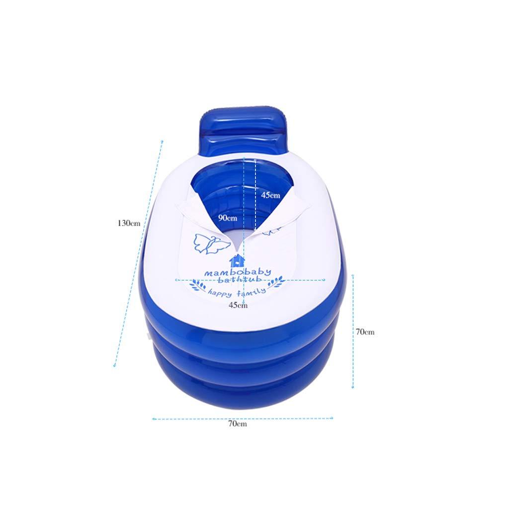 900c21712 ... Mingteng Bañera Inflable Bañera portátil de de de PVC Bañera de  hidromasaje portátil respetuosa con el ...