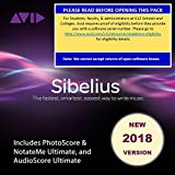 Sibelius 2018 Professional for Students and Teachers with Photoscore & Audioscore Ultimate (Download Card)