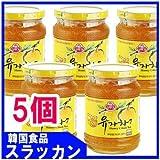 三和はちみつ柚子茶(500g) 5個 [並行輸入品]