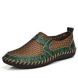 JBJANY Men's Poseidon Slip-On Loafers Fashion Sneakers Casual Walking Shoes Water Shoes