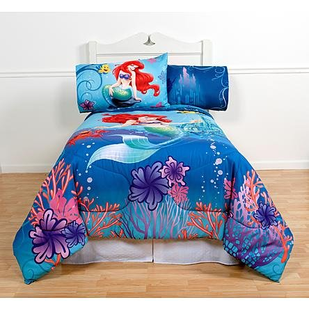 Disney Magical Mermaid Twin/Full (Little Mermaid Comforter)
