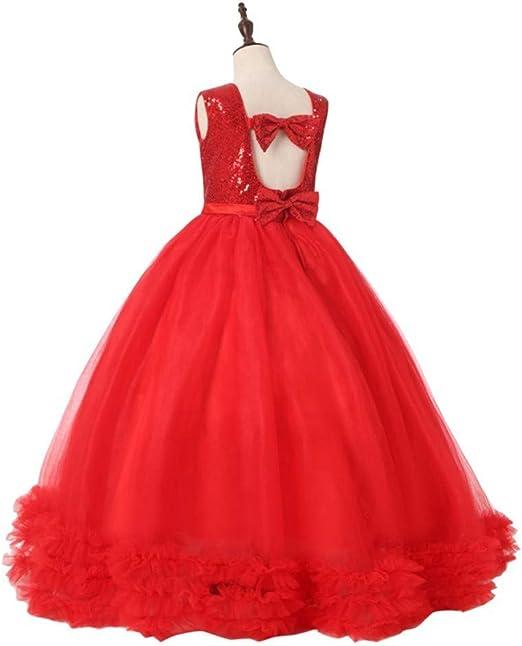 Haarband 2pcs Riou Baby M/ädchen Abendkleider Lang mit /ärmeln Prinzessin Brautjungfer Hochzeit Festzug Kleider