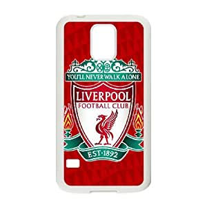 Samsung Galaxy S5 Cell Phone Case White Liverpool Logo Personalized Protective Phone Case Cover XPDSUNTR25385