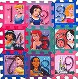 ": Princess Foam Puzzle Mat 9""x9"""