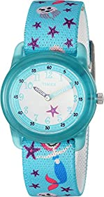 Timex Unisex Analog Elastic Fabric Strap (Little Kids/Big Kids)