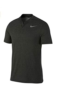 80569c159 Nike Men s Aeroreact Golf Polo Shirt Short Sleeve Two Snap Shirts at ...