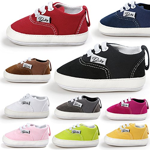 RVROVIC-Baby-Boys-Girls-Shoes-Canvas-Toddler-Sneakers-Anti-Slip-Infant-First-Walkers-12Color
