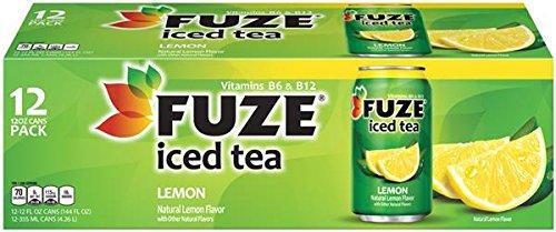 Fuze Lemon Iced Tea 12 Ct (Pack of 2)
