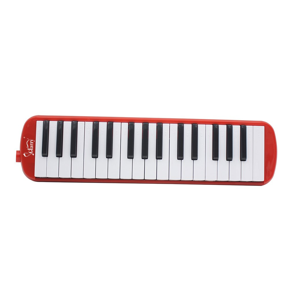 Kuyal 32 Key Melodica, Piano Style Melodica Keyboard, Musical Education Instrument For Music Lovers Beginners And Children With Mouthpiece & Hose & Bag (Red) by Kuyal (Image #6)