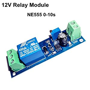 Amazon.com: Sunkee 12V Delay Timer Switch Adjustable 0 to