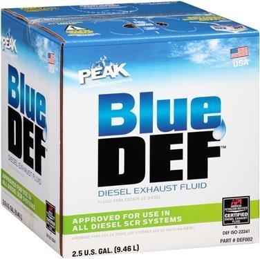 BlueDEF DEF002 Diesel Exhaust Fluid - 2.5 Gallon Jug (12-Pack)