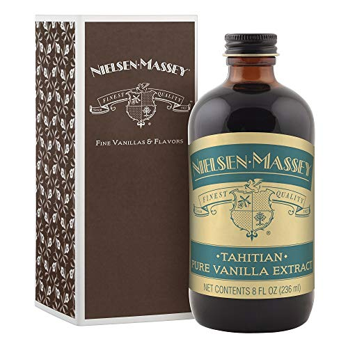 Nielsen-Massey Tahitian Pure Vanilla Extract, with Gift Box, 8 ounces