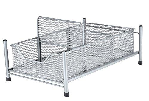 Frigidaire Slide-Out Kitchen Cabinet Organizer & Space Saver, Holder for Cleaning Supplies & Cooking Utensils - Frigidaire Storage Cabinet