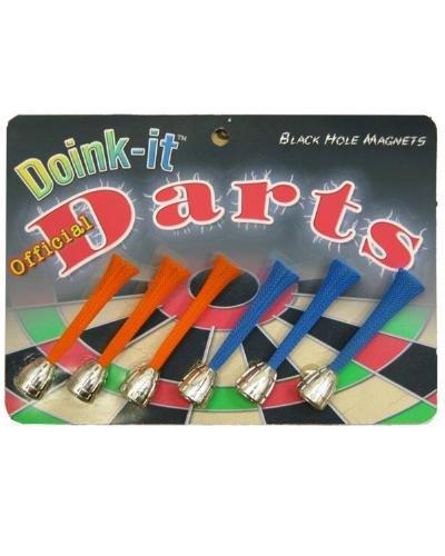 Doinkit Darts- Refills (Pack 6- 3 Each of 2 Colors) ()