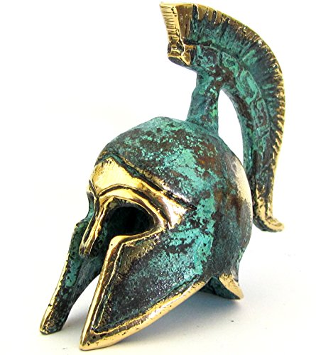 Iconsgr Ancient Greek Bronze Museum Replica of Spartan Officer Helmet (387)]()