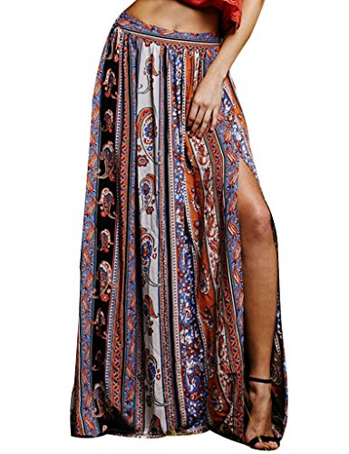 Womens Gypsy Tribal Floral Casual
