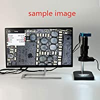 AFCITY Microscopio Compuesto 34MP 2K Microscopio Industrial cámara ...