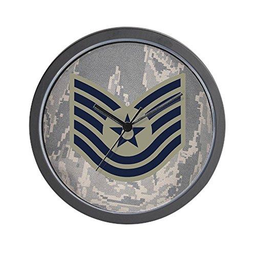 CafePress - USAF-Tsgt-Mousepad-ABU - Unique Decorative 10' Wall Clock