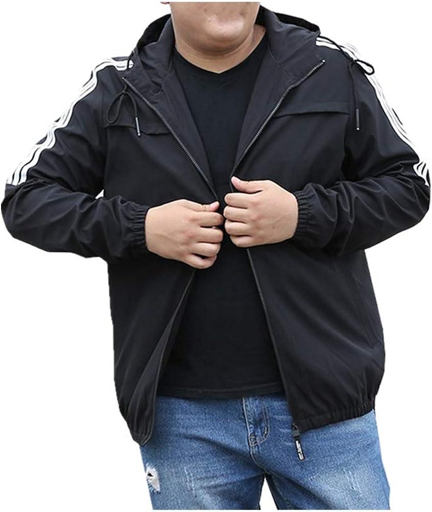 NOBRAND Otoño juvenil abrigo casual suelto más gordo tamaño superior de los hombres chaqueta deportiva Fat Trend