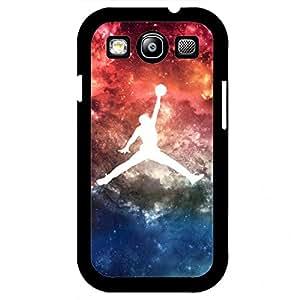 Galaxy Style Jordan Logo Samsung Galaxy S3 Case,Jordan Phone Case Black Hard Plastic Case Cover For Samsung Galaxy S3,Jordan Phone Case Cover