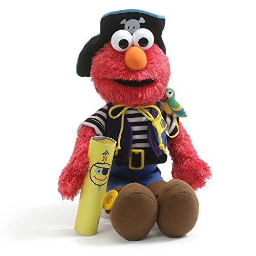GUND Elmo's World Teach Me Pirate Plush Sesame Street Toy Stuffed Plush Toy ()