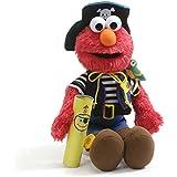 Gund Elmo's World Teach Me Pirate Plush Sesame Street Stuffed Toy