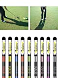 Morodz Golf Alignment Rods, Pack of 2 (Black)