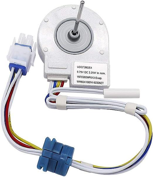 WR60X10074 Motor de ventilador de evaporador para refrigerador con ...