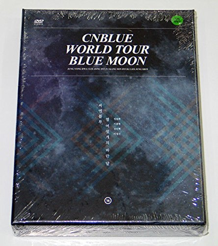 CNBLUE - 2014 CNBLUE WORLD TOUR BLUE MOON [2 Discs + 110p Photobook + Mini Poster] + Extra Gift Photocards