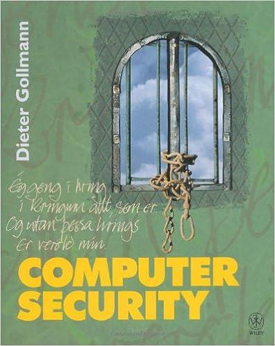 Download computer security by dieter gollmann pdf bnx e-books.