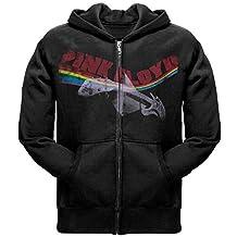 Pink Floyd - Psych Guitar Black Zip Hoodie