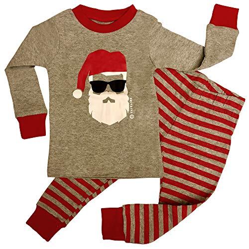 (Fayfaire Christmas Pajamas Boutique Quality: Adorable Xmas Santa PJs)