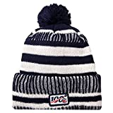 holly joll Football Team Embroidery Logo Adjustable Pom Knit Bonnie Hat Winter
