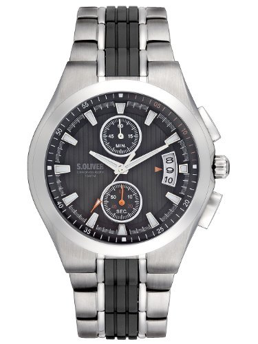 s.Oliver Men's Quartz Chronograph Watches SO-2214-MC