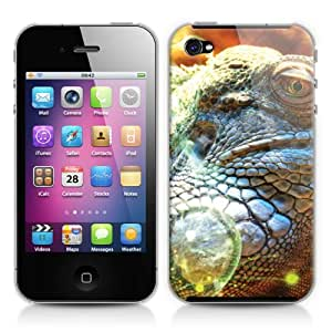 Caso duro para Apple iPhone 4/4s - Iguana