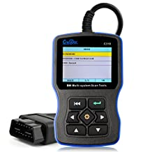 Creator C310 V5.3 Bmw OBDII 16Pin Diagnostic Code Reader Suppot With Clear Adaptation And Engine Oil Reset Set Functions
