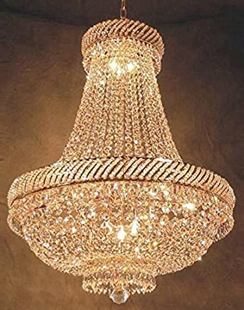 Swarovski crystal trimmed chandelier french empire crystal swarovski crystal trimmed chandelier french empire crystal chandelier chandeliers lighting h26quot aloadofball Choice Image