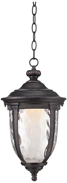 Bellagio 18u0026quot; High LED Veranda Bronze Outdoor Hanging Light