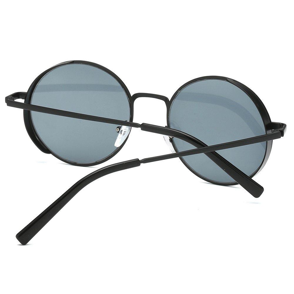 Zilosconcy Sonnenbrillen BZ Runde Sonnenbrille f/ür M/änner und Frauen Damen Herrenmode Quadrate Metallrahmen Marke Klassische Sonnenbrillen