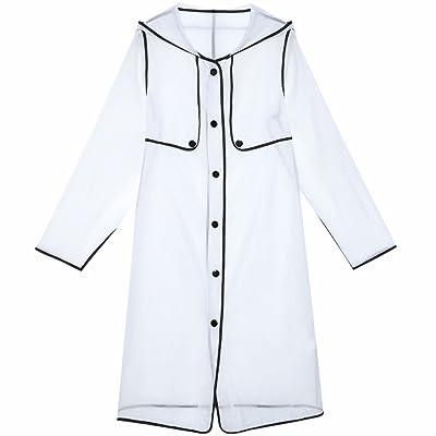 サンプロテクションウェア女性夏ロングセクション薄セクションワイルドルースファッションホワイトサンプロテクションウェア ( Size : XL )