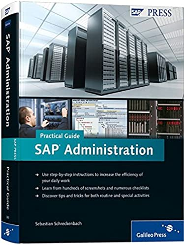 sap administration practical guide step by step instructions for rh amazon com sap administration practical guide pdf download sap administration practical guide sebastian schreckenbach pdf download