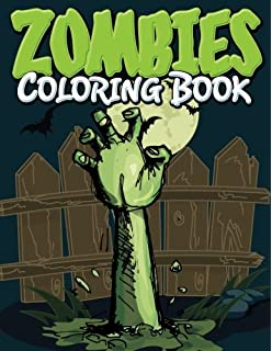 Amazon.com: The Zombie Apocalypse: The Almost Adult Coloring Book ...